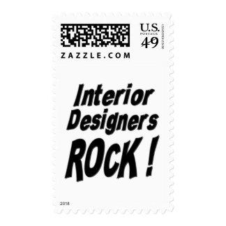 Interior Designers Rock ! Stamps