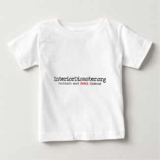Interior Disaster Title T-shirts