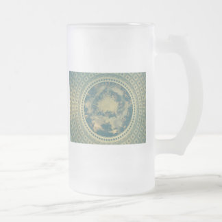 Interior Dome of the Capitol Building Frosted Glass Beer Mug