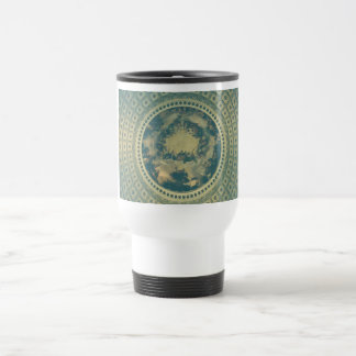 Interior Dome of the Capitol Building 15 Oz Stainless Steel Travel Mug