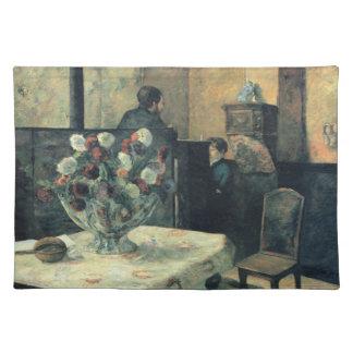 Interior du Rue Carcel - Paul Gauguin (1881) Manteles