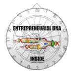 Interior emprendedor de la DNA (réplica de la DNA) Tablero Dardos
