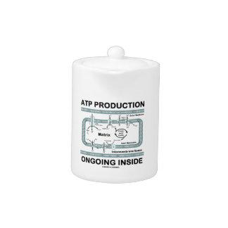 Interior en curso de la producción del ATP