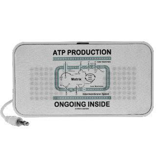 Interior en curso de la producción del ATP Notebook Altavoces