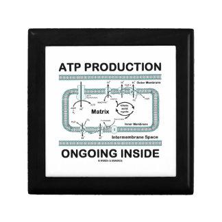 Interior en curso de la producción del ATP Cajas De Regalo