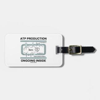 Interior en curso de la producción del ATP Etiquetas Maletas