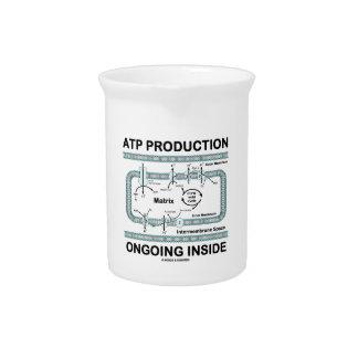 Interior en curso de la producción del ATP Jarrón
