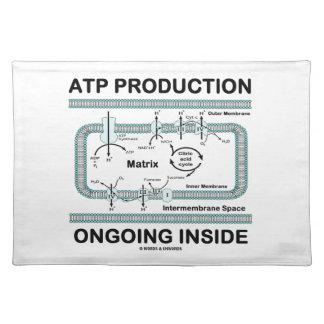 Interior en curso de la producción del ATP Mantel Individual