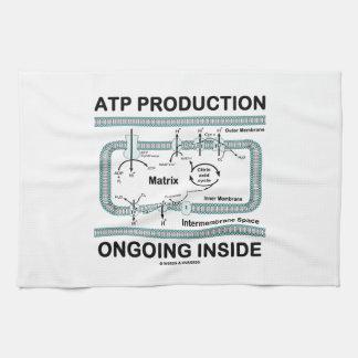 Interior en curso de la producción del ATP Toalla De Mano