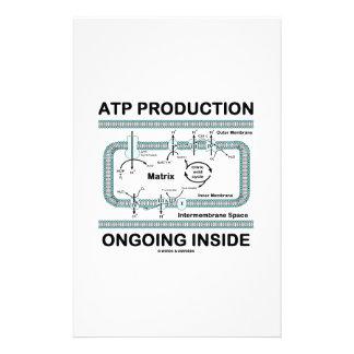 Interior en curso de la producción del ATP Papeleria