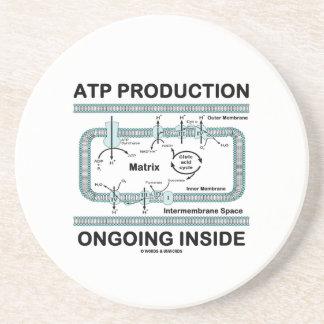 Interior en curso de la producción del ATP Posavasos Cerveza