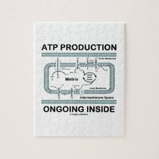 Interior en curso de la producción del ATP Rompecabeza
