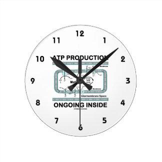 Interior en curso de la producción del ATP Reloj De Pared