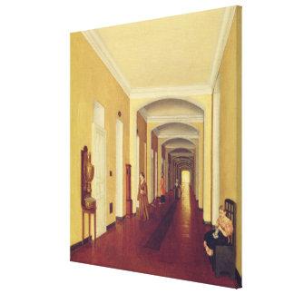 Interior en el hospital de Golitsyn, c.1840 Lona Estirada Galerias