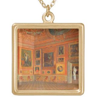 Interior en el palacio de Medici Colgante Cuadrado