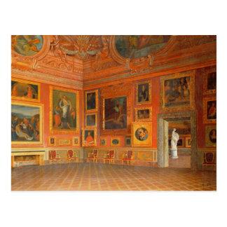 Interior en el palacio de Medici Tarjeta Postal