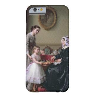 """Interior en """"las castañas"""" Wimbledon, abuela Funda De iPhone 6 Barely There"""