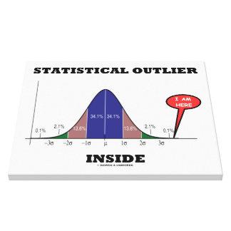 Interior estadístico del afloramiento (humor de la impresiones de lienzo