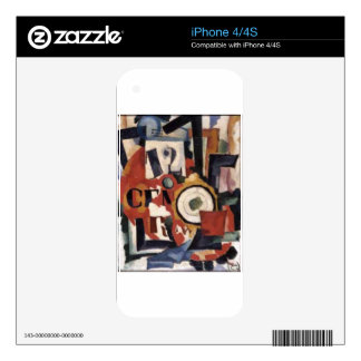 Interior expression of things Amadeo de Souza iPhone 4 Skin