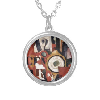Interior expression of things Amadeo de Souza Round Pendant Necklace