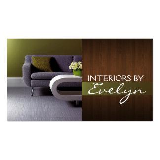Interior Exterior Designer Business Card