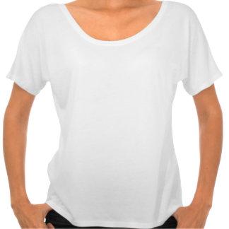 Interior feliz - camiseta artsy de las mujeres del