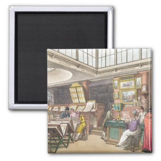 Interior from Ackermann's 'Repository of Arts, Lit Magnet