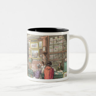 Interior from Ackermann's 'Repository of Arts, Lit Two-Tone Coffee Mug