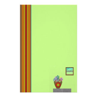 Interior Home Design Unlined Stationery