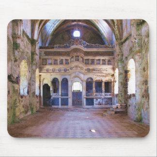 Interior, iglesia, Panayia Pyrgiotissa, Kayakoyu Alfombrilla De Raton