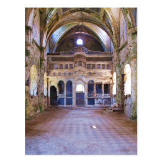 Interior, iglesia, Panayia Pyrgiotissa, Kayakoyu Tarjetas Postales