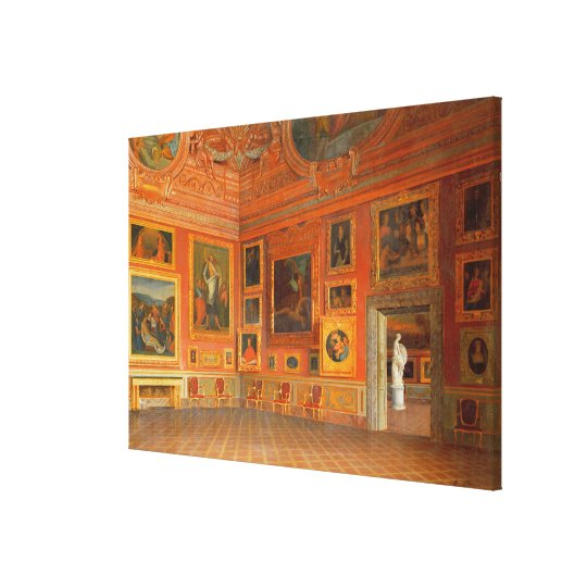 Interior in the Medici Palace Canvas Print