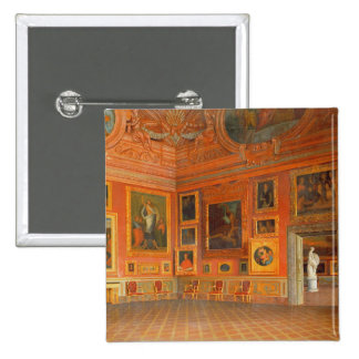 Interior in the Medici Palace Pinback Button