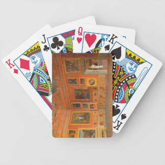 Interior in the Medici Palace Bicycle Playing Cards