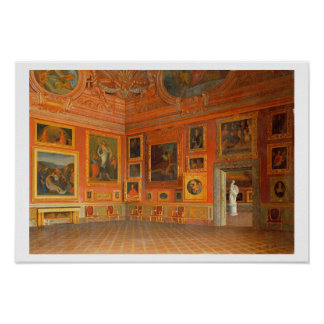Interior in the Medici Palace Print