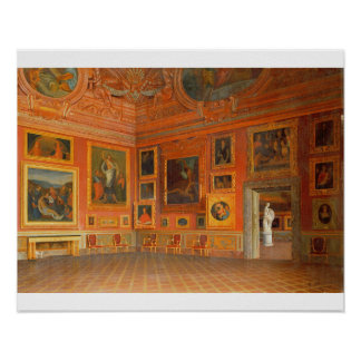 Interior in the Medici Palace Poster