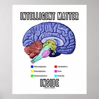 Interior inteligente de la materia (humor anatómic impresiones