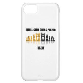 Interior inteligente del jugador de ajedrez (ajedr
