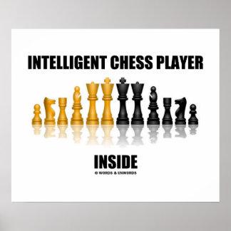 Interior inteligente del jugador de ajedrez (ajedr impresiones