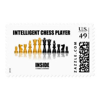 Interior inteligente del jugador de ajedrez (ajedr sellos