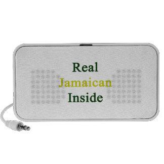 Interior jamaicano real altavoz de viaje