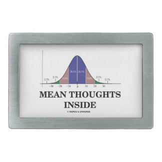 Interior malo de los pensamientos (humor de las es hebilla de cinturon