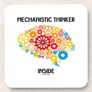 Interior mecánico del pensador (engranajes del posavasos de bebidas