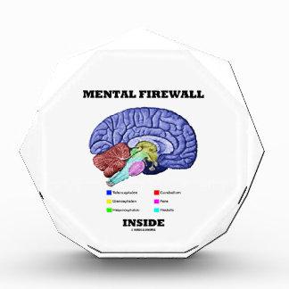 Interior mental del cortafuego (cerebro anatómico)