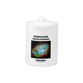 Interior nebuloso de la explosión (nebulosa de