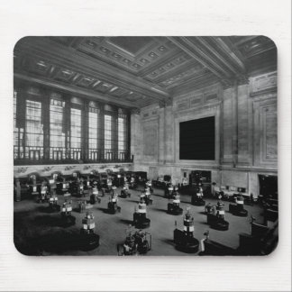 Interior New York Stock Exchange Lower Manhattan Mouse Pad