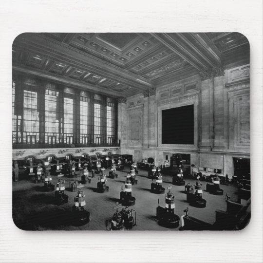 Interior New York Stock Exchange Lower Manhattan Mouse Pad