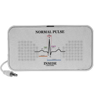 Interior normal del pulso (electrocardiograma de E iPod Altavoces