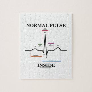 Interior normal del pulso (electrocardiograma de E Puzzles Con Fotos