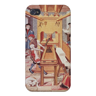 Interior of a 16th century ing works iPhone 4/4S cover